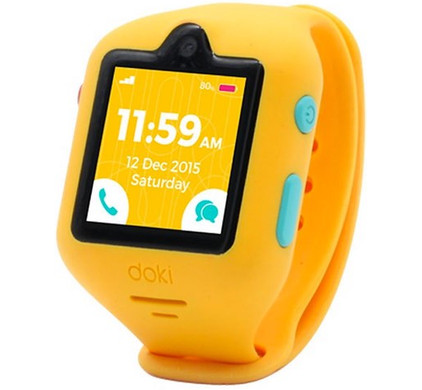 DokiWatch Mango Yellow