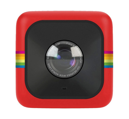 Polaroid Cube rood