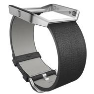Fitbit Blaze Polsband Leather Black - S