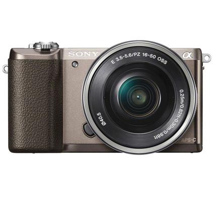Sony Alpha A5100 Bruin + 16-50mm