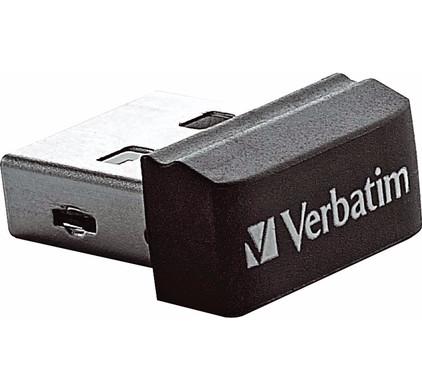 Verbatim Store N Stay Nano Usb 2.0 16 GB Zwart