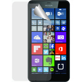 Azuri Lumia 640 XL Screenprotector Plastic Duo Pack