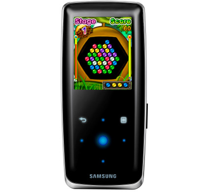Samsung YP-S3 8 GB Black