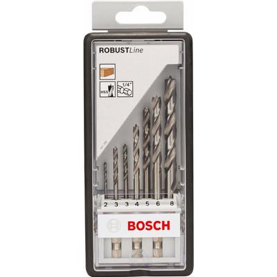 Image of Bosch 7-delige Robust Line Borenset Hout