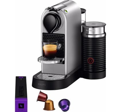 krups nespresso citiz milk zilver xn760b coolblue alles voor een glimlach. Black Bedroom Furniture Sets. Home Design Ideas