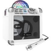 iDance Audio Sing Cube BC100 Wit