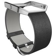 Fitbit Blaze Polsband Leather Black - L