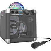 iDance Audio Sing Cube BC100 Zwart