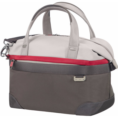 Image of Samsonite Uplite Beauty Case Pearl/Red/Grey