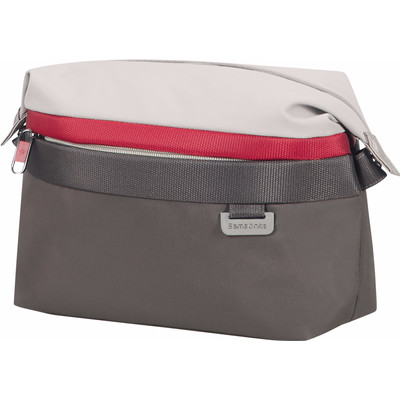 Samsonite Uplite Toilet Case Pearl/Red/Grey