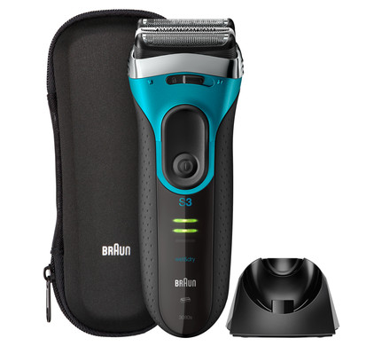 Braun Series 3 3080s Black/Eloxal Blue