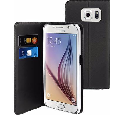 Muvit Wallet Samsung Galaxy S7 Book Case Zwart