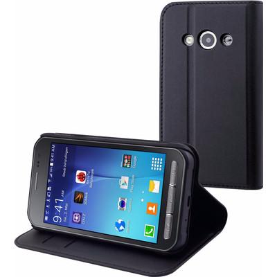 Muvit Wallet Case Samsung Galaxy Xcover 3 Zwart