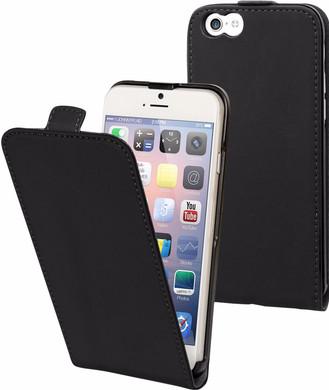Muvit Folio Apple iPhone 6/6s Flip Case Zwart