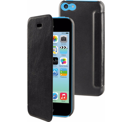 Muvit Folio Apple iPhone 5C Book Case Zwart