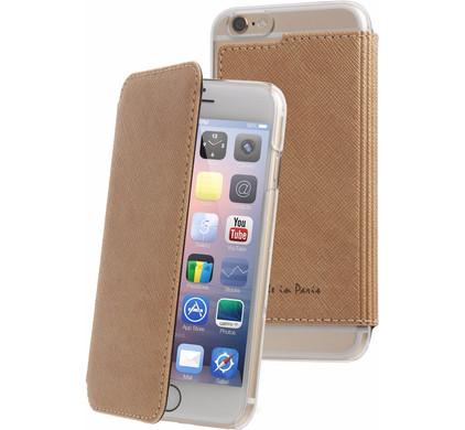 Muvit Luxe Wallet Apple iPhone 6 Plus/6s Plus Book Case Goud