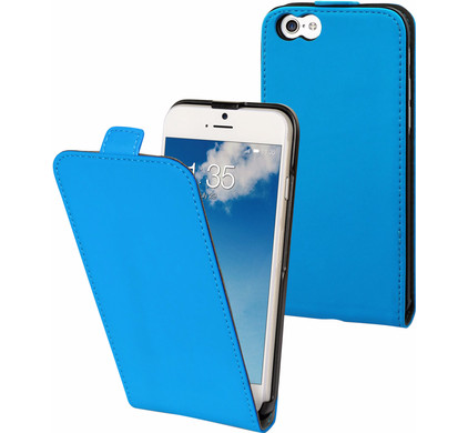 Muvit Folio Apple iPhone 6/6s Flip Case Blauw