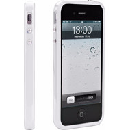 Muvit Apple iPhone 5/5S/SE Bumper Wit