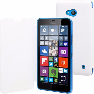 Muvit Book Case Microsoft Lumia 640 Wit