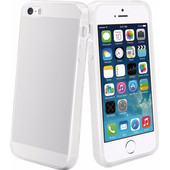 Muvit Crystal Soft Apple iPhone 5/5S/SE Back Cover Transparant