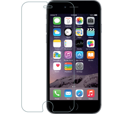Azuri Apple iPhone 6/6s Screenprotector Gehard Glas