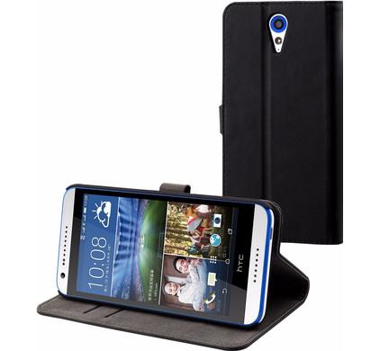 Muvit Folio Stand HTC Desire 620 Book Case Zwart