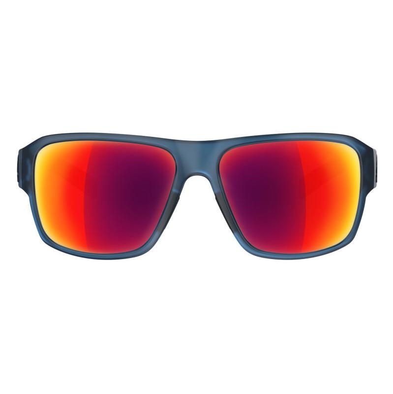 Adidas Jaysor Blue Transparant Matt-Red Mirror Lens