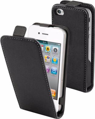 Muvit Folio Apple iPhone 4/4S Flip Case Zwart