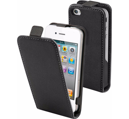 Muvit Folio Apple iPhone 4/4S Flip Case Zwart