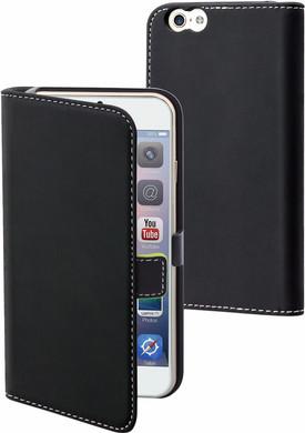 Muvit Folio Apple iPhone 6 Plus/6s Plus Book Case Zwart
