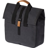 Basil Urban Dry Shopper 26L Charcoal Zwart