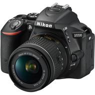 Nikon D5500 AF-P 18-55 VR+55-200 VR II+16GB+Tas