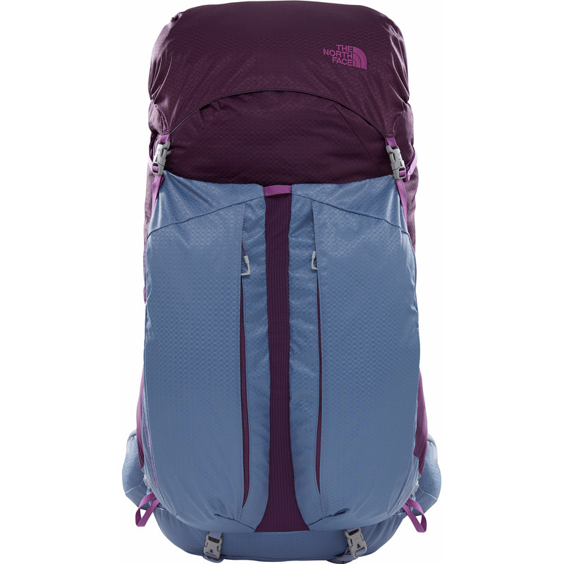 The North Face Womens Banchee 50 Blackberry Wine-Folkstone Gray M-L