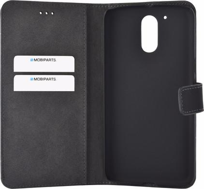 Mobiparts Premium Wallet Case Motorola Moto G4/G4 Plus Zwart
