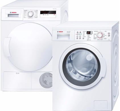 Bosch WAQ28363NL + Bosch WTH83000NL