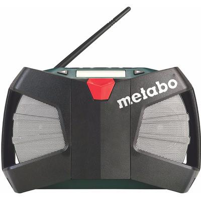 Image of FM Bouwradio Metabo PowerMaxx RC AUX, Middengolf, FM Accu laadfunctie, Spatwaterbestendig, Stofdicht, Stofvast Zwart, Groen