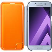 Samsung Galaxy A5 (2017) Neon Flip Cover Blauw