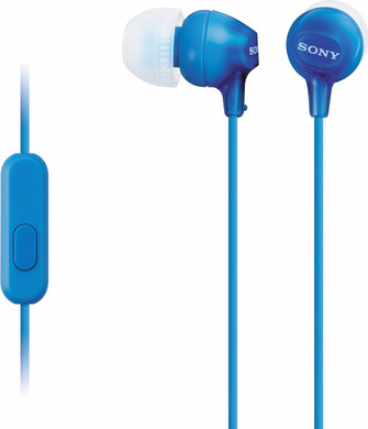 Sony MDR-EX15AP Blauw