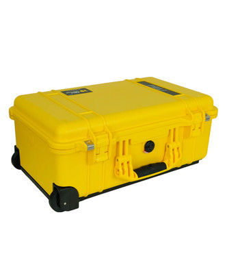 Pelicase Trolley 1510 Yellow met plukschuim