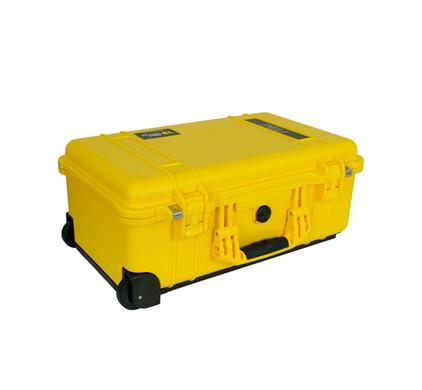 Pelicase Trolley 1510 Yellow met plukschuim