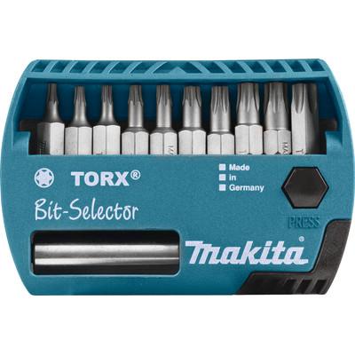 Image of Makita 11-delige Bitset Torx P-53768