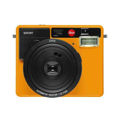 Image of Leica SOFORT camera oranje
