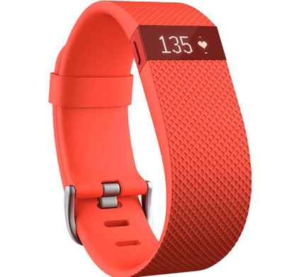 Fitbit Charge HR Tangerine - S