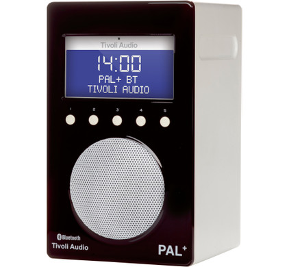 Tivoli Audio PAL+ Bluetooth Zwart