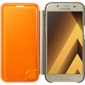 Samsung Galaxy A3 (2017) Neon Flip Cover Goud