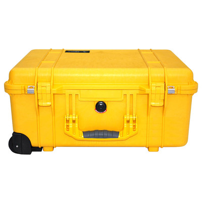 Pelicase 1560 Yellow met plukschuim
