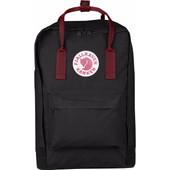 Fjällräven Kånken Laptop 15'' Black-Ox Red