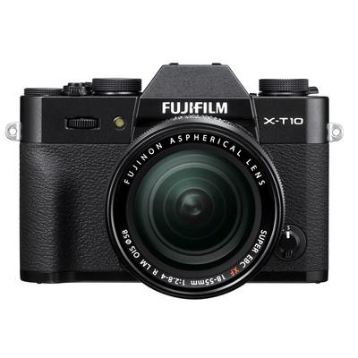 Image of Fuji X-T10 + XF 18-55mm - zwart