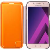 Samsung Galaxy A3 (2017) Neon Flip Cover Roze