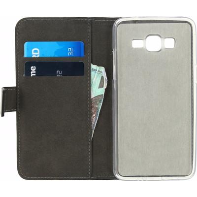 Mobilize Gelly Wallet Book Case Samsung Galaxy Grand Prime Zwart
